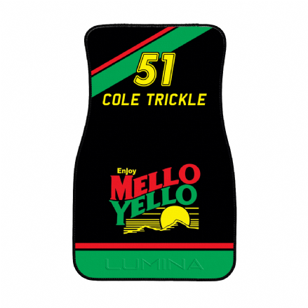Cole Trickle Mello Yello Chevrolet Lumina Car 51 Days of Thunder Car Floor Mat